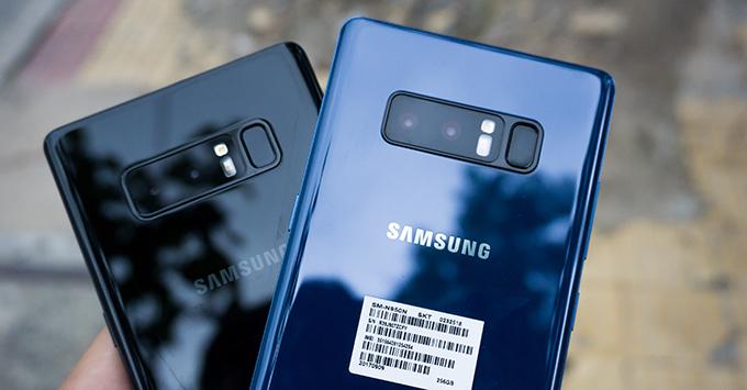 Điện thoại Samsung Note 8 Mỹ mới Fullbox 3